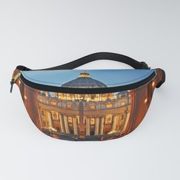 SAINT PETER'S CATHEDRALE in ROME Fanny Pack