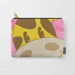 Cute Cartoon Giraffe Carry-All Pouch