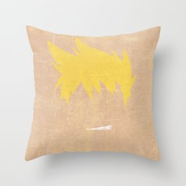 Minimalist Kittan Throw Pillow