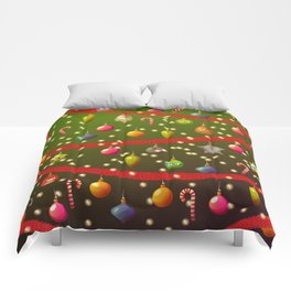 Look at these Christmas decorations! Comforters
