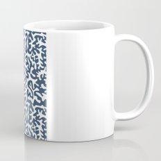 navy coral pattern Coffee Mug