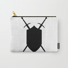 Crossed Swords Silhouette Carry-All Pouch