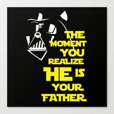 Vader Spoiler Canvas Print