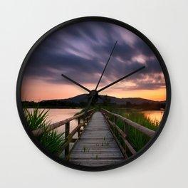 Escape II Wall Clock