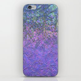 Sparkley Grunge Relief Background G181 iPhone Skin