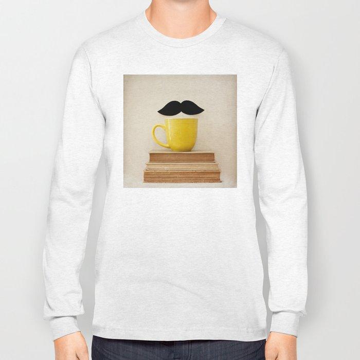Mr. Stache  Long Sleeve T-shirt