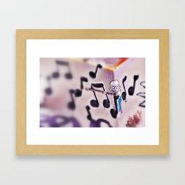 Muzak Framed Art Print