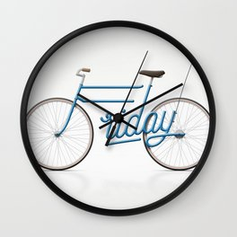 Lovely Friday Wall Clock