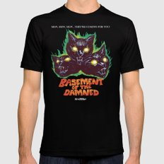 Basement Of The Damned SMALL Black Mens Fitted Tee