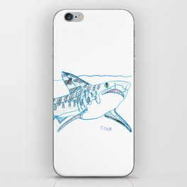 Tiger Shark II iPhone Skin