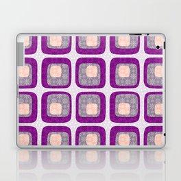 60s Winter Wonderland in Purple Laptop & iPad Skin