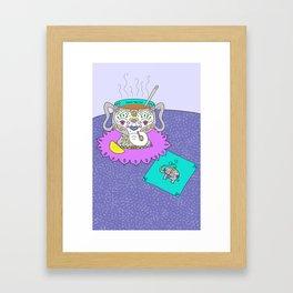 Beau~Tea~Ful Framed Art Print
