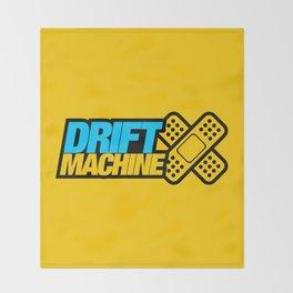 Drift Machine v1 HQvector Throw Blanket