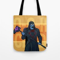 starlord Tote Bags featuring Dance Off Bro - Companion Throw/Tote by Lydia Butz