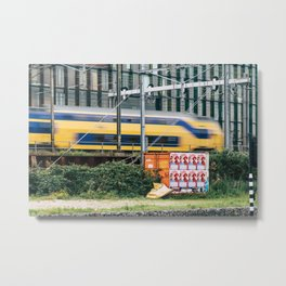 Commuter Train Metal Print