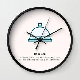 Help Bell Wall Clock
