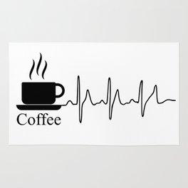 Cardiac Coffee Rug