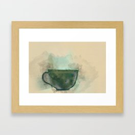 One cup  Framed Art Print