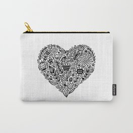 heart bloom Carry-All Pouch
