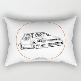 Crazy Car Art 0217 Rectangular Pillow