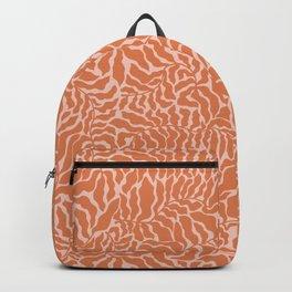 Abundance | Orange & Pink Backpack