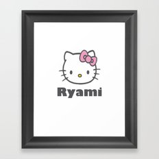hellokitty Framed Art Print