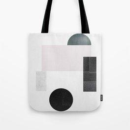 Black ball Tote Bag