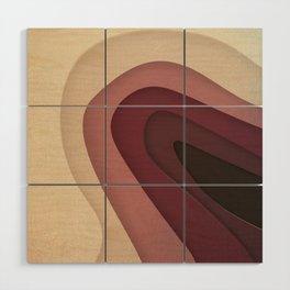 Abstract Geometry Wood Wall Art