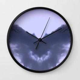 Night Bringing Owl Wall Clock