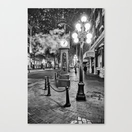 Steamy Nights Canvas Print