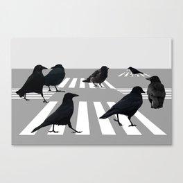 crossroad Canvas Print