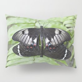 Mating Swallowtail Butterfly Pillow Sham