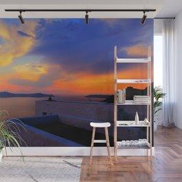 Enjoy the sunset Wall Mural