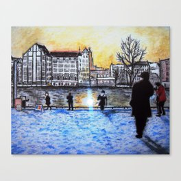 Spree - Berlin Canvas Print