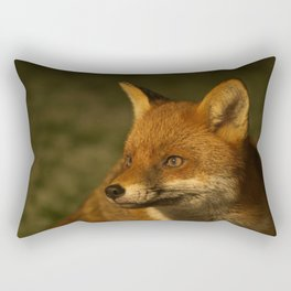 The Wild Red Fox Rectangular Pillow