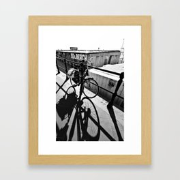 Shadow and Light Framed Art Print