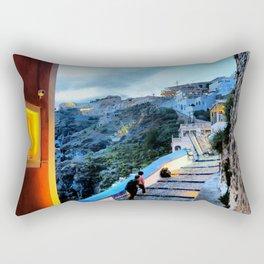 Santorini 29 Rectangular Pillow
