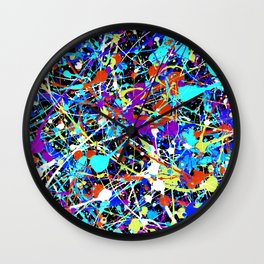 Splat! 2 (Inside Out) Wall Clock