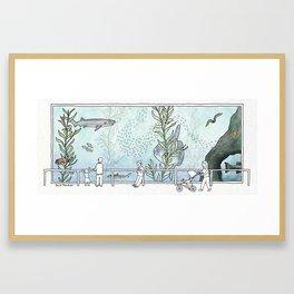 Kelp Forest Tank v1 Framed Art Print
