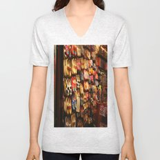Knock On Wood...With Your Feet Unisex V-Neck