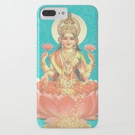 Lakshmi, Goddess of Love (Turquoise) iPhone Case