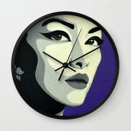Lady Black Wall Clock