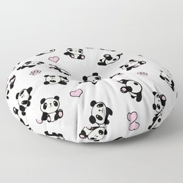 Panda pattern Floor Pillow