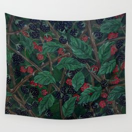 Blackberry Bonanza Wall Tapestry