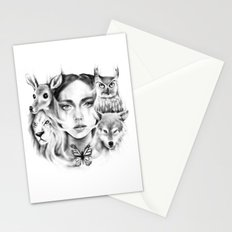 Tangled Existence (Spirit Animals) Stationery Cards