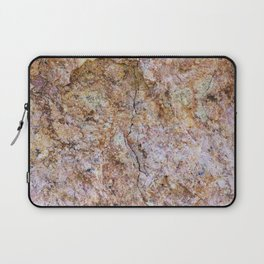 Abstract orange granite pattern Laptop Sleeve