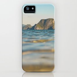 Ocean Sunset at El Nido iPhone Case