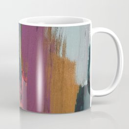 Anywhere: a bold, colorful abstract piece Coffee Mug