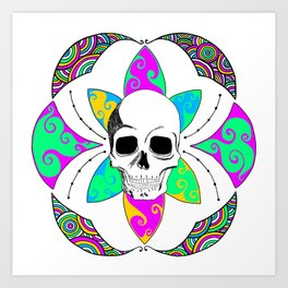 Flower of Life Pastel Passion Art Print