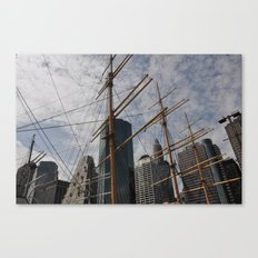 Old/New Canvas Print